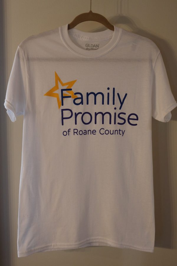 T-Shirt: Family Promise Roane in White